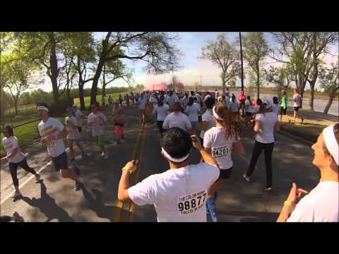 In Running Color – The Color Run – Tulsa 2013
