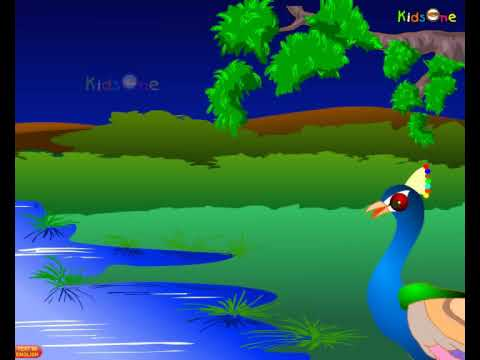 A Story of Peacock  Telugu Animated Stories