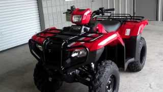 10. 2014 Foreman ES 500 SALE at Honda of Chattanooga TN / TRX500FE2E Power Steering