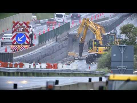 Demolition of Collins Avenue overbridge – 3 November 2018