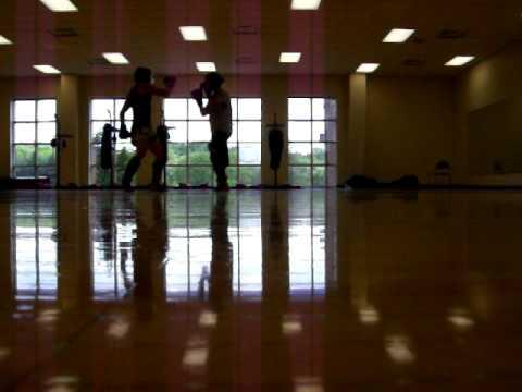 Sparring 5-10-09: Clay Matthews vs Ben Palko