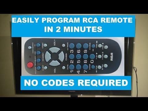 RCA Universal Remote RCR504BR Programming For TV