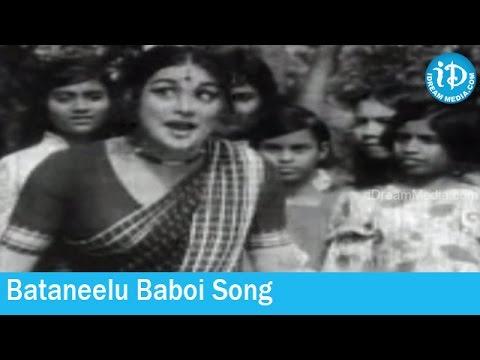 Bataneelu Baboi Song - Pedda Koduku Movie Songs - Sobhan Babu - Varalakshmi - Kanchana