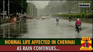 Special Report : Normal Life Affected In Chennai as Rain Continues News 30/11/2015 Tamil Cinema Online