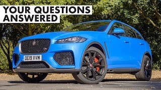 Jaguar F-Pace SVR: Your Questions Answered | Carfection + by Carfection