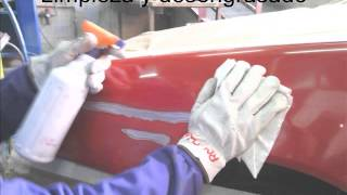 2013 Reparación Aleta delantera carrocería IES Cangas del Narcea