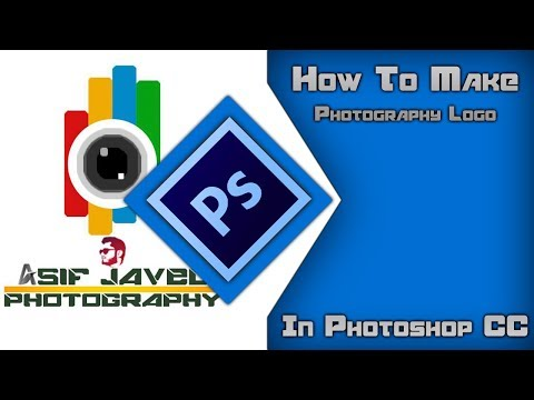 How To Make Photography Logo In PhotoShop CC 2018