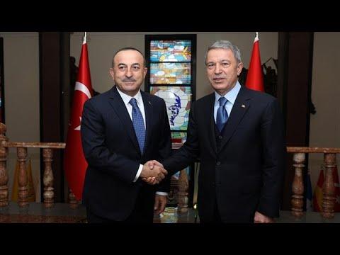 Σύσκεψη Τσαβούσγλου-Ακάρ μετά και τις δηλώσεις Μενέντεζ στο euronews…