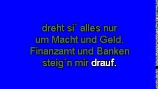 Irgendwann Bleib I Dann Dort - STS (Karaoke-CD+G)