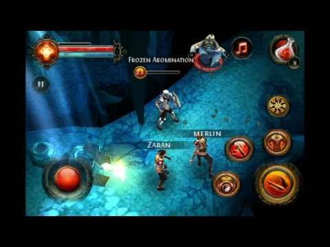 Trailer del juego Dungeon Hunter 2