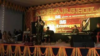 Singer Sanjeevani Showcasing Her Talent At SMS Varanasi