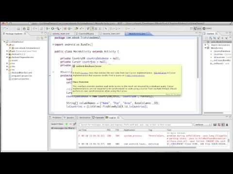 Android Development Course - Chapter 12 - List View Demo2
