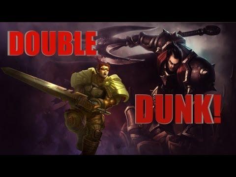 League Of Legends Wallpaper Darius Vs Garen And DOUBLE