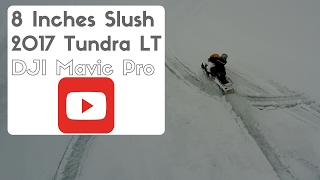 9. 2017 Skidoo Tundra LT in HEAVY Slush