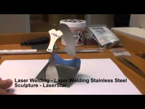 "<h3>Laser Welding - Laser Welding Fabrication </h3>In this laser welding video, we are recreating ""The Picasso"" Sculpture which is in the Daley Plaza in Chicago. The miniature statue was completely laser assembled with a LaserStar laser welding system and was made of stainless steel.<br><br>"