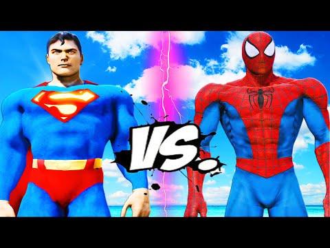 SUPERMAN VS SPIDERMAN - EPIC BATTLE