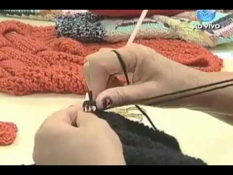Manhã Viva - Artesanato: Sapato de tricô para o inverno - 04/06/12 - Parte 1