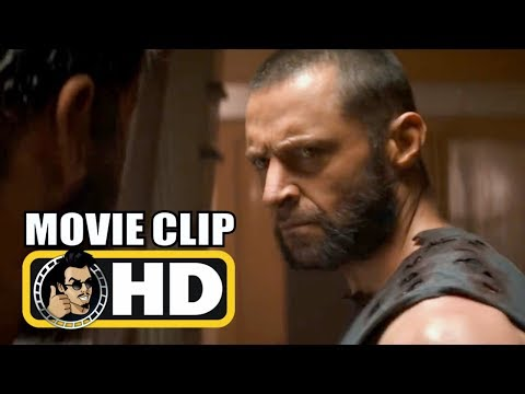 Logan (2017) Movie Clip - Logan Meets X-24 Hd