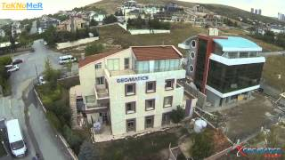 Multikopter ile Geomatics Group Ankara Çayyolu Merkez Binası