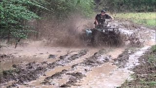7. 2018 Yamaha Kodiak 450 Mudding!