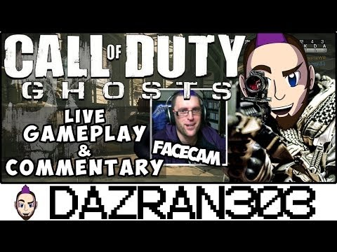 wiiu - Call of Duty: Ghosts WiiU Live Gameplay & Commentary (Wii-Remote) Team Deathmatch on Strikezone 16-7 with SA-805 Assault Rifle Live Commentary from Dazran303...