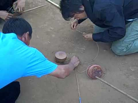 Hmong Spinning Top Tournament