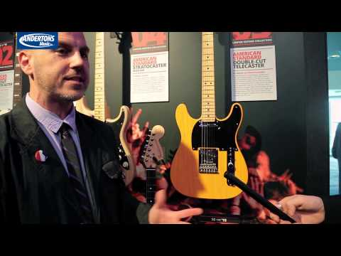 Fender 10 for 15 and new guitars NAMM 2015