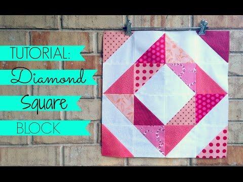 patchwork - blocco diamond square