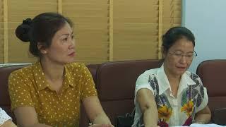 Chi cục thuế tỉnh làm việc với huyện Hoành Bồ