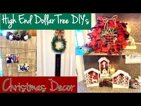 Dollar Tree Christmas DIY's/ Farmhouse Christmas DIY's/ High End Dollar Tree DIY's/Friend Friday Hop