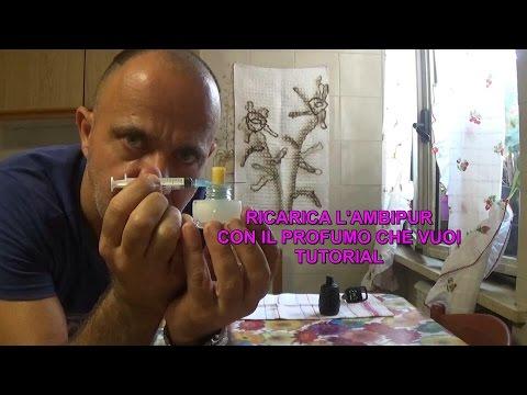 Ricarica l'Ambipur gratis con il profumo che vuoi Tutorial