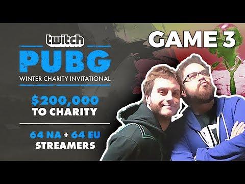 PUBG - Twitch Charity Winter Event - GAME 3/5 avec ZeratoR