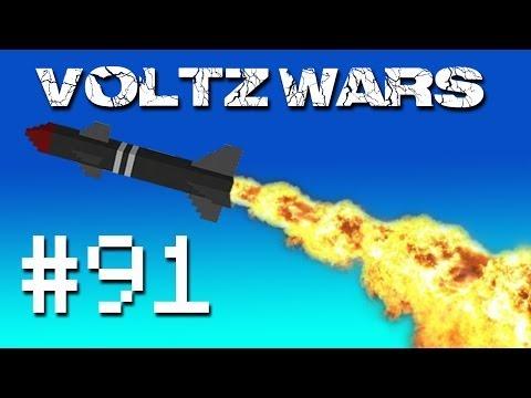 Minecraft Voltz Wars - Orcs and Dragons! #91