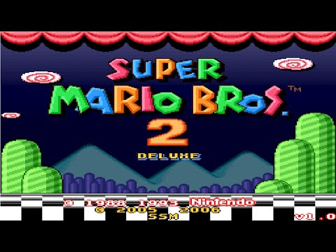 Super Mario Bros. 2 Deluxe (Smw Hack)(Longplay)