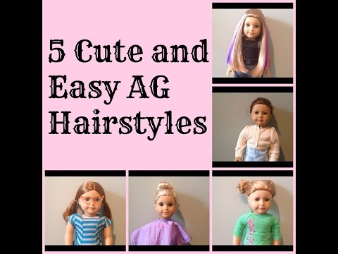 Fantastic Cute American Girl Doll Hairstyles This Is Jesse Hairstyle Inspiration Daily Dogsangcom