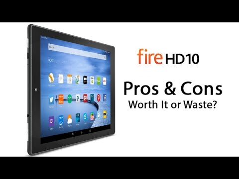 Amazon Fire HD10 - Pros & Cons (Worth It or Waste?)​​​ | H2TechVideos​​​