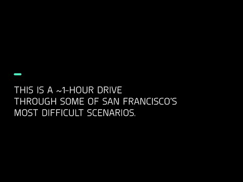 Zoox: ~1-Hour Fully Autonomous Drive in San Francisco with Commentary