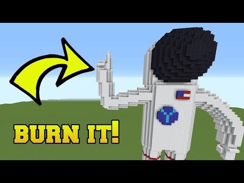 IS THAT AN ASTRONAUT?!? BURN IT!!! (видео)