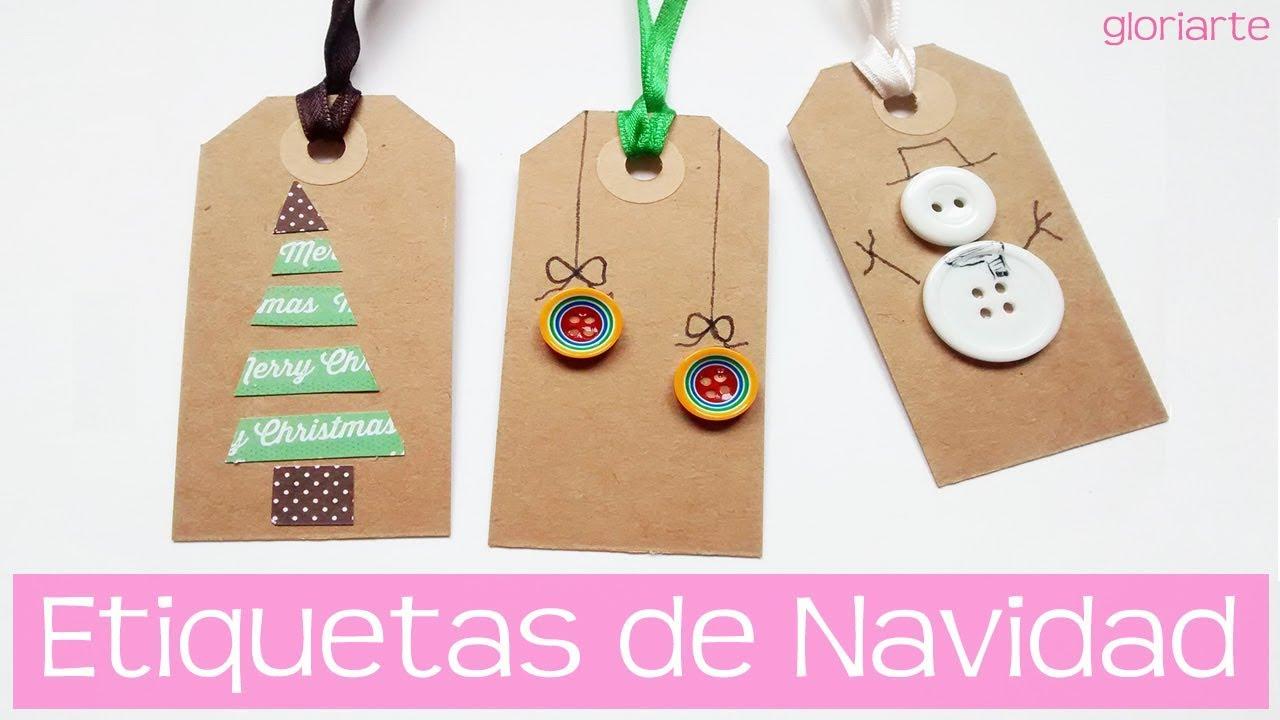 Tres etiquetas diy para decorar regalos esta navidad - Decorar regalos de navidad ...