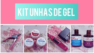 KIT DE UNHAS DE GEL