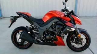 5. 2012 Kawasaki Z1000 Candy Burnt Orange Overview and Review