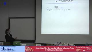 "Lecturer: Prof. Melanie S. Sanford, University of Michigan ""Special Physics Colloquium - The 2013 Sackler Biophysics Prize"", Tel ..."