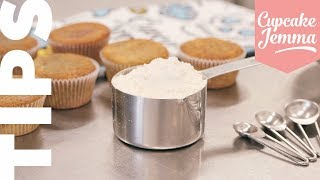 How to Make Your Own Self-Raising Flour | Cupcake Jemma Tips by Cupcake Jemma