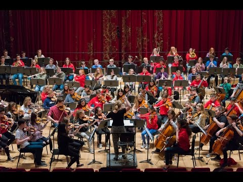 NYOS Junior Orchestra at Stevenson Hall, the Royal Conservatoire of Scotland, April 2017
