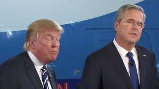 Video Trump, Bush square off over casinos in Florida MP3, 3GP, MP4, WEBM, AVI, FLV Januari 2019