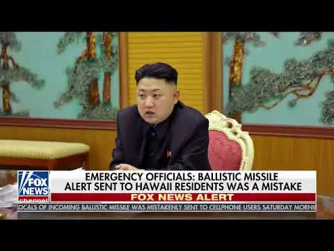 Breaking News  Alert About Missile Bound for Hawaii Was Sent in Error, Officials Say