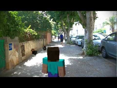 When Minecraft Leaks into our World