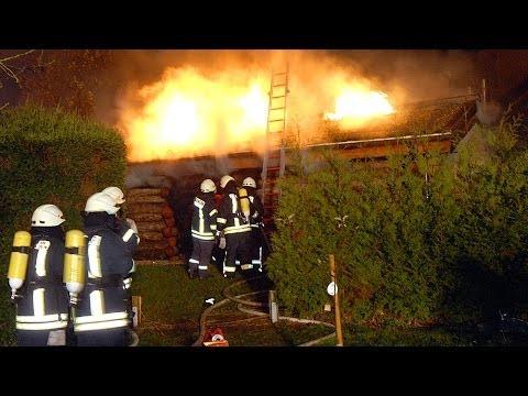 Bad Arolsen: Sieben Verletzte bei Saunabrand