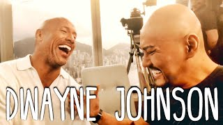 Video Dwayne THE ROCK Johnson (SUMPAH NIH ORG GEDE BGT!!) Interview Hongkong Skyscraper MP3, 3GP, MP4, WEBM, AVI, FLV September 2018