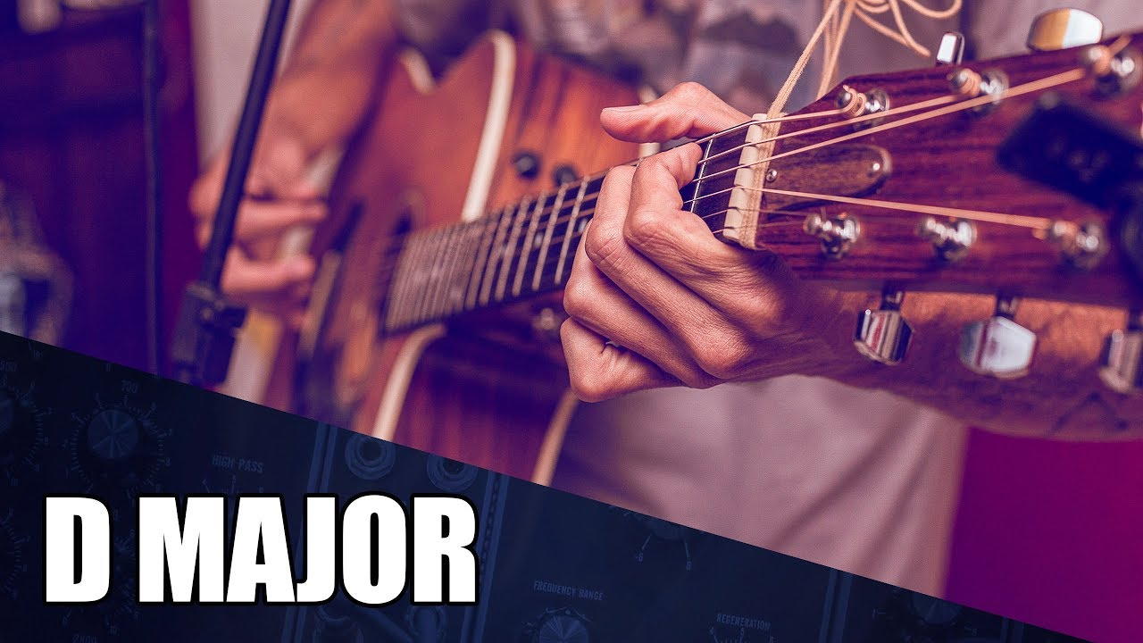 Ambient Acoustic Guitar Instrumental In D Major | Blissful